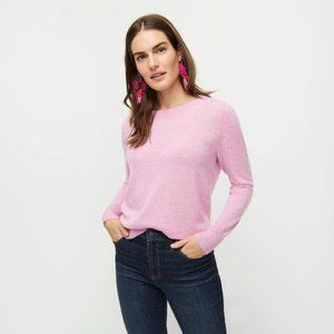 J.Crew Cashmere Sweater Bright Heather Orchid